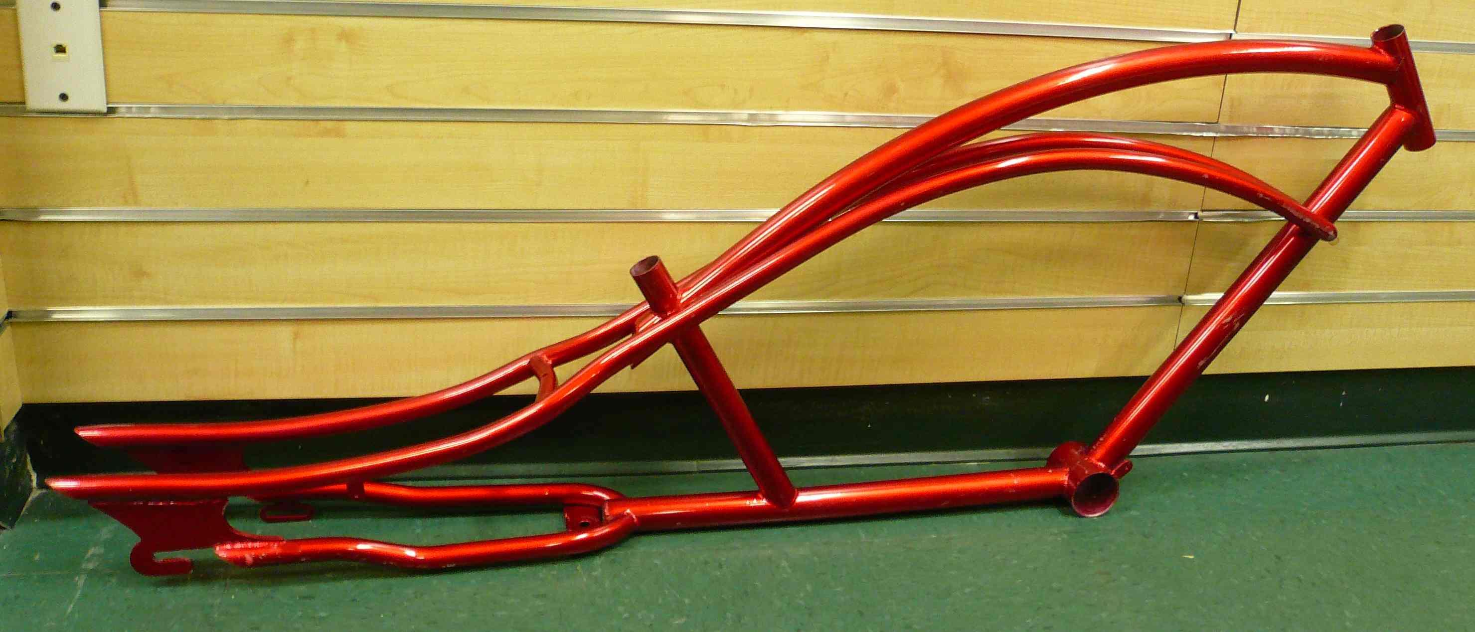 Beach Cruiser Bicycle Frame | slikrik.com