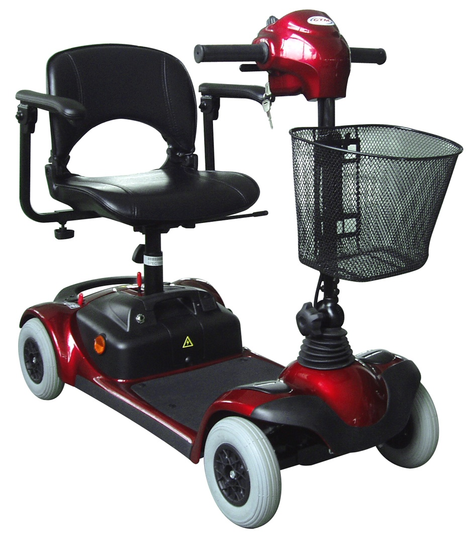 Ctm Hs 295 4 Wheel Electric Mini Mobility Travel Scooter