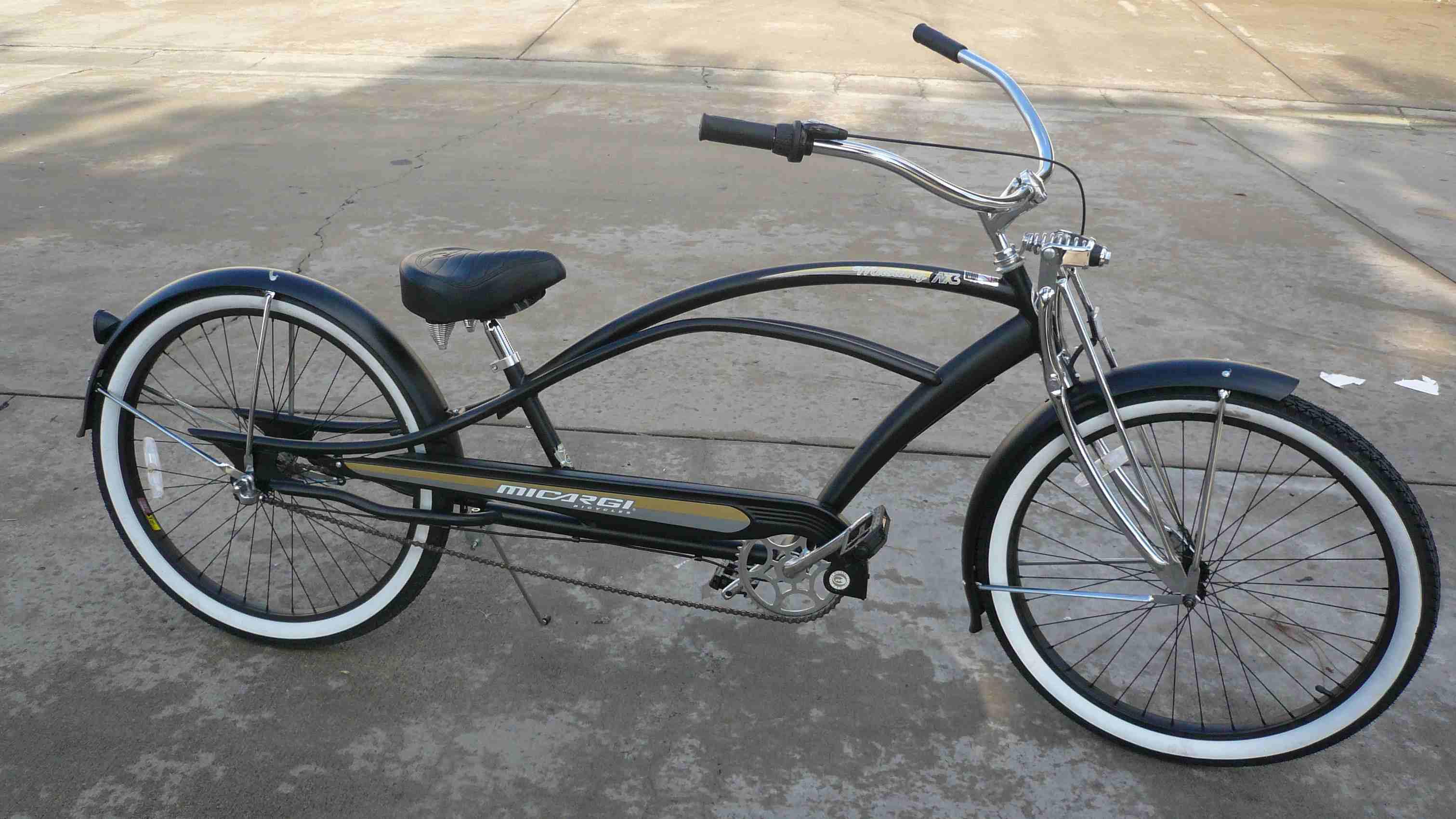 Micargi 26 Quot 3 Speed Stretch Beach Cruiser Bicycle 36