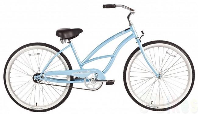 Micargi 26quot Pantera Women Beach Cruiser Bicycle Bike Baby Blue  EBay