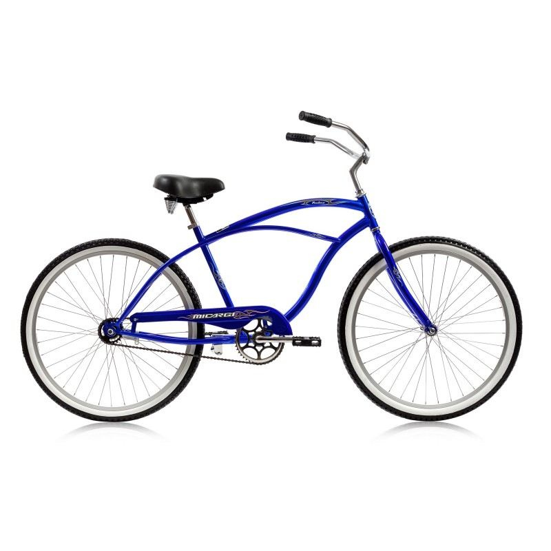 Micargi 26 Quot Pantera Men Beach Cruiser Bicycle Bike Blue Ebay