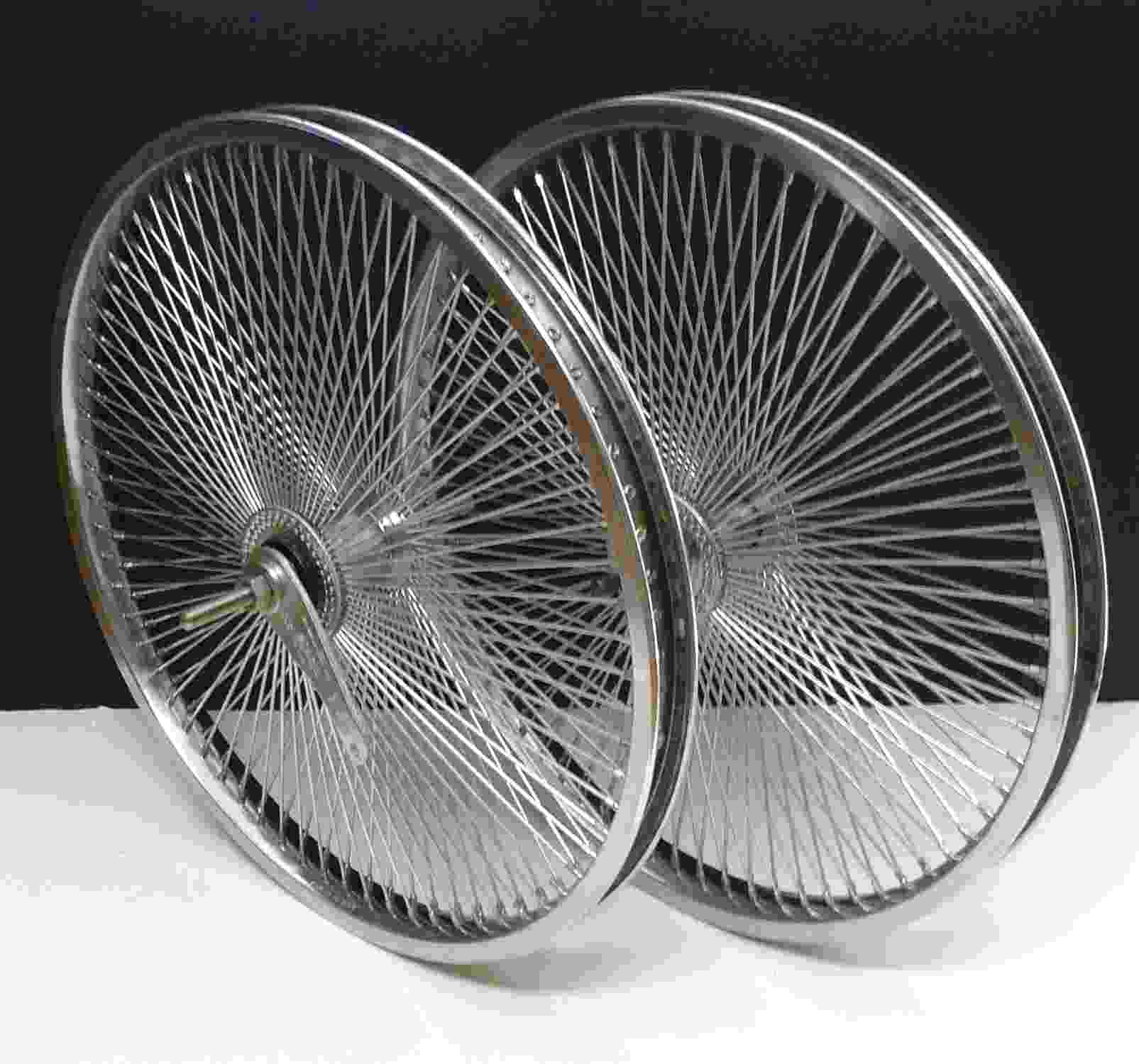 Lowrider Cruiser Bicycle 20 Quot X1 75 140 Spokes Wheels Ebay