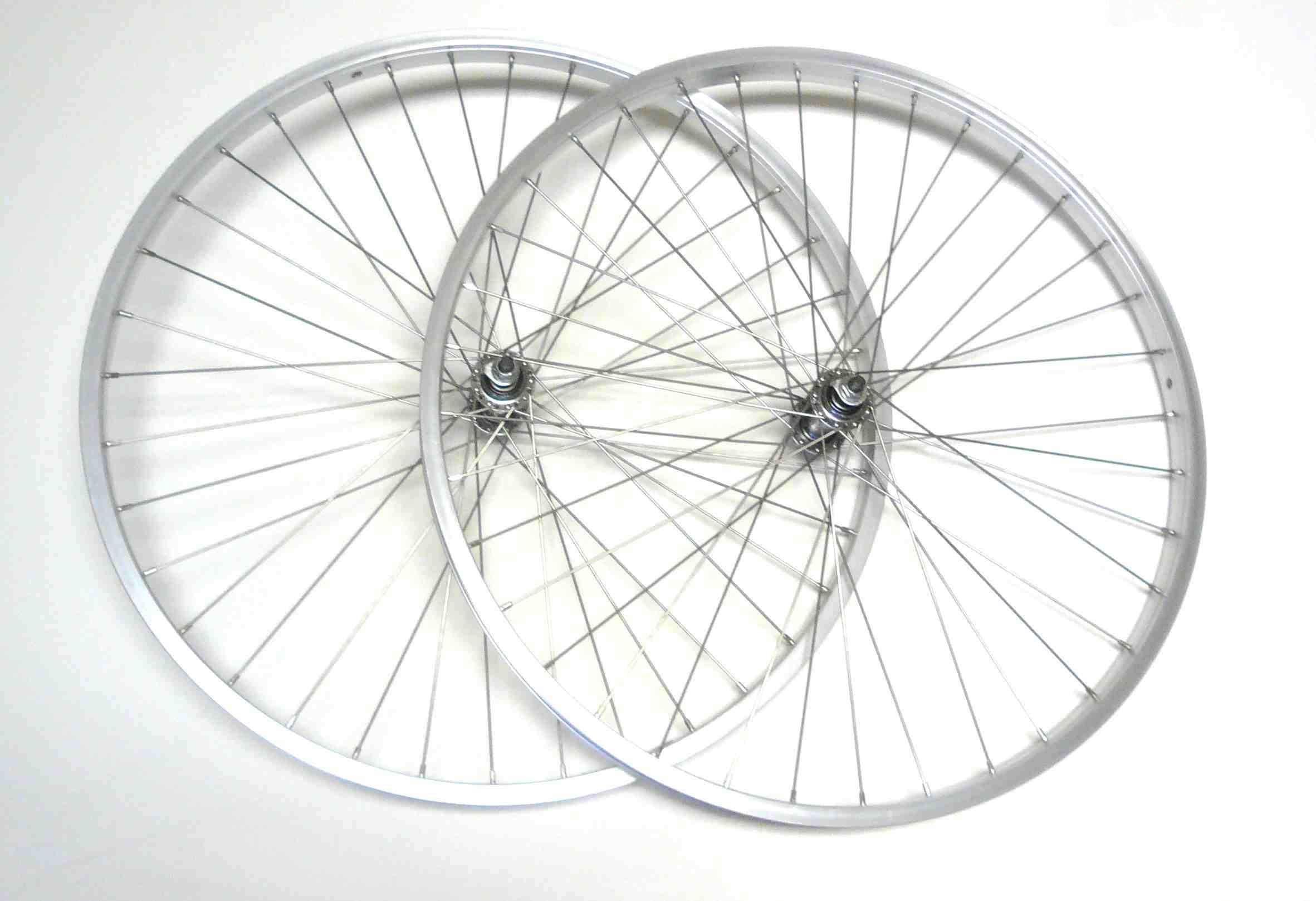 26x1 5 Mountain Bike 7 Speed Front Rear Wheels Rims