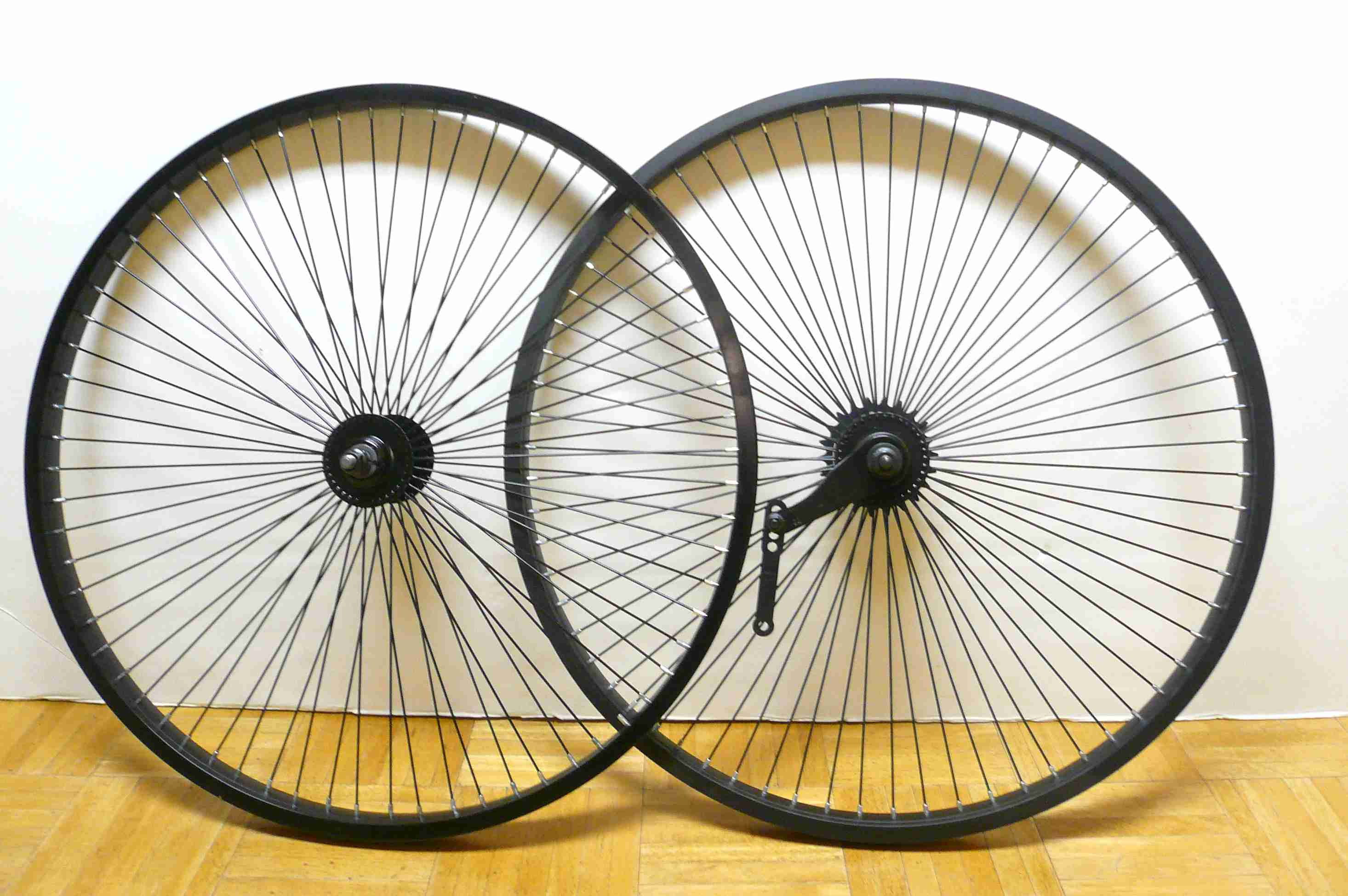 Beach Cruiser Bike 26 Quot X1 75 Wheels Wheelset Rims Black