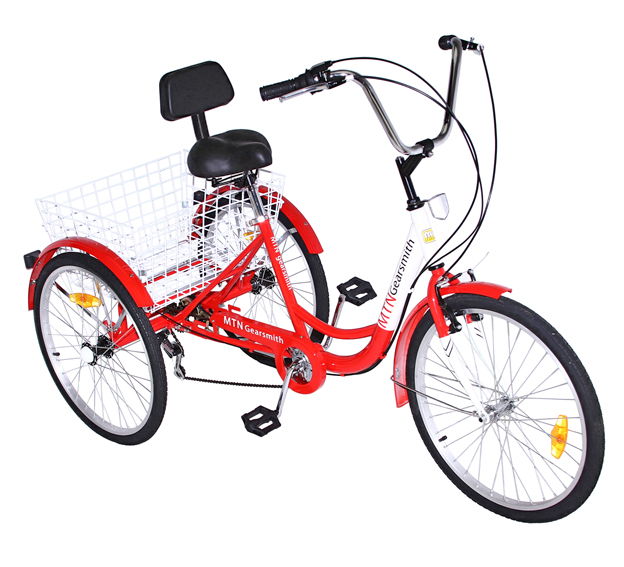 7 speed adult tricycle